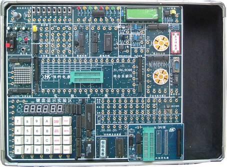 at89c52音乐彩灯控制器电路图